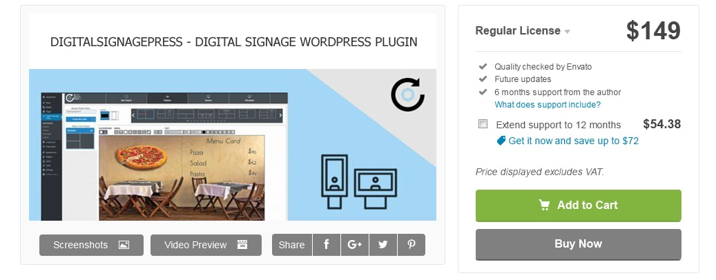 Digitalsignagepress Pro is moving to Codecanyon